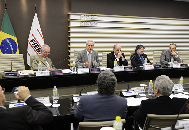 A reunião do Cosema: sustentabilidade e agronegócio em debate. Foto: Helcio Nagamine/Fiesp