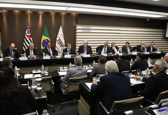 A reunião do Consic: pelo crescimento do setor. Foto: Ayrton Vignola/Fiesp