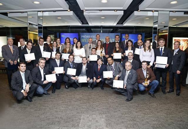 Os vencedores do Prêmio Mérito Ambiental: exemplos para a indústria. Foto: Everton Amaro/Fiesp