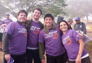 A partir da esquerda: Monteiro, Larh, Etto e Maria Carolina: gosto pelo desafio. Foto: Isabela Barros/Fiesp