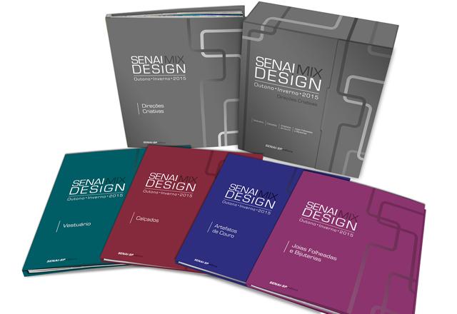 Os cadernos do Senai Mix Design Outono-Inverno 2015: referências para a indústria. Foto: Divulgação