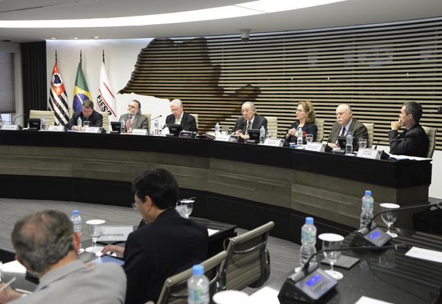 A reunião conjunta do Conjur, Coscex e Conic nesta segunda-feira (25/08). Foto: Helcio Nagamine/Fiesp