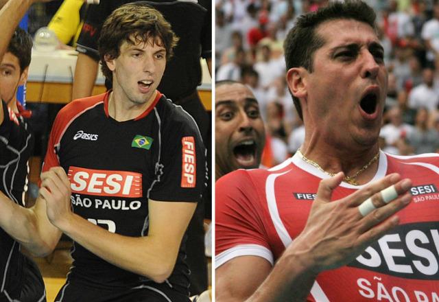"""Sesi-SP """"repatria"""" Sidão e Gustavão para o vôlei masculino"""