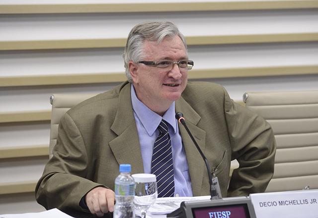 Decio Michellis durante reunião do Conselho Superior de Meio Ambiente (Cosema) da Fiesp. Foto: Helcio Nagamine/Fiesp