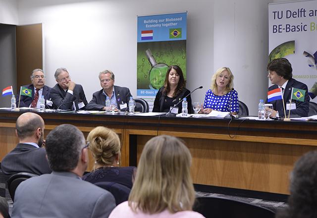 Ministra holandesa Jet Bussemaker em reunião sobre bioeconomia na Fiesp. Foto: Helcio Nagamine/Fiesp