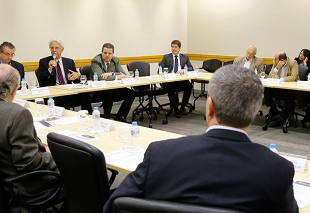 Reunião do Copagrem na sede da Fiesp. Foto:Helcio Nagamine/Fiesp