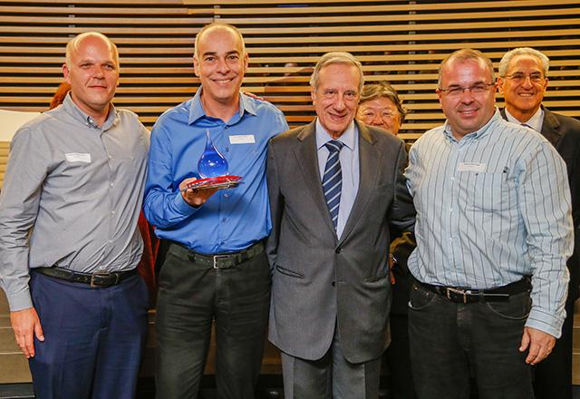 Raízen Energia venceu o Prêmio Fiesp Conservação e Reúso de Água. Foto: Everton Amaro/Fiesp