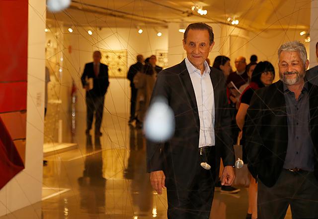 Paulo Skaf, presidente da Fiesp e do Ciesp, na abertura da exposição. Foto: Everton Amaro/Fiesp