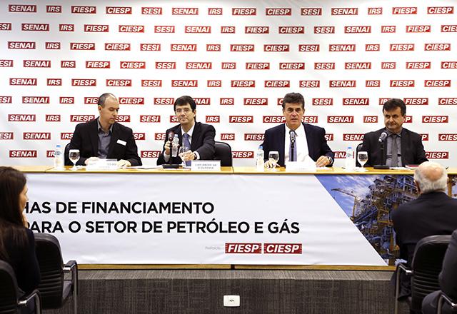 Reunião em que o BNDES explicou mudanças operacionais a empresários do setor de petróleo e gás. Foto: Helcio Nagamine/Fiesp