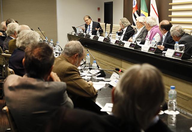 Reunião do Conselho Superior de Economia da Fiesp, com a participação de Octavio de Barros. Foto: Helcio Nagamine/Fiesp