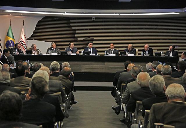 Reunião de diretoria da Fiesp com a participação de Bernard Appy. Foto: Everton Amaro/Fiesp