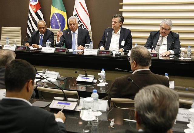 Reunião do Conselho Superior de Infraestrutura da Fiesp com a participação de Jorge Bastos, presidente da Empresa de Planejamento e Logística. Foto: Helcio Nagamine/Fiesp