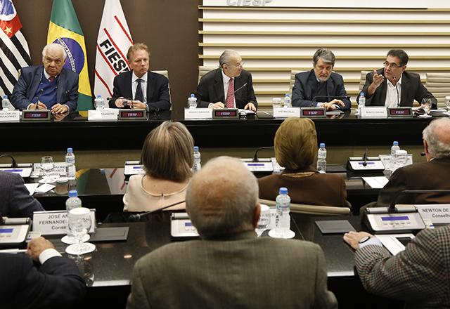 Reunião do Conselho Superior de Comércio Exterior da Fiesp. Foto: Helcio Nagamine/Fiesp
