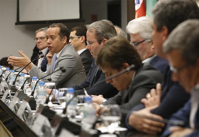 Reunião Plenária do Code, com o ministro do Esporte, Leandro Cruz Fróes. Foto: Helcio Nagamine/Fiesp