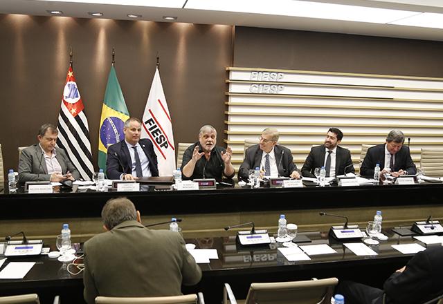 Apresentação das propostas de Ciro, por Guaracy Mingardi. Foto: Helcio Nagamine/Fiesp