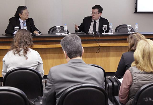 Reunião na Fiesp para apresentação do Estudo sobre Opções de Mitigação de Emissões de Gases de Efeito Estufa em Setores-chave do Brasil. Foto: Helcio Nagamine/Fiesp