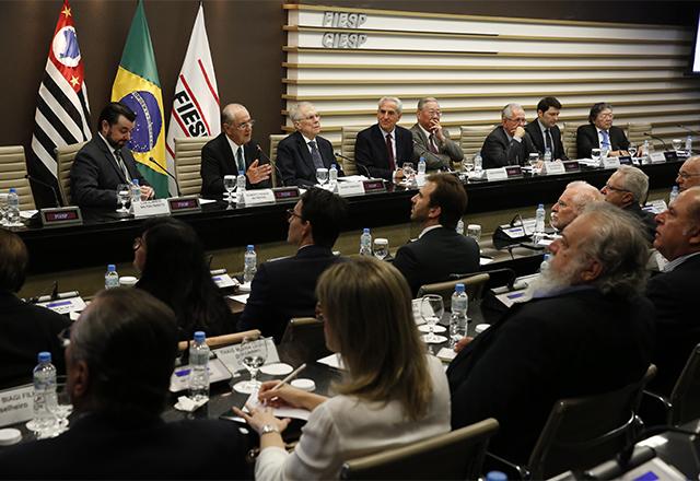 Reunião do Conselho Superior de Meio Ambiente da Fiesp. Foto: Ayrton Vignola/Fiesp