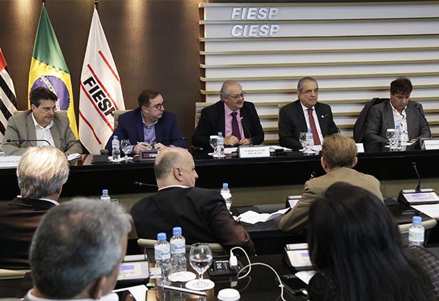 Reunião do Comitê da Cadeia Produtiva do Desporto da Fiesp. Foto: Helcio Nagamine/Fiesp