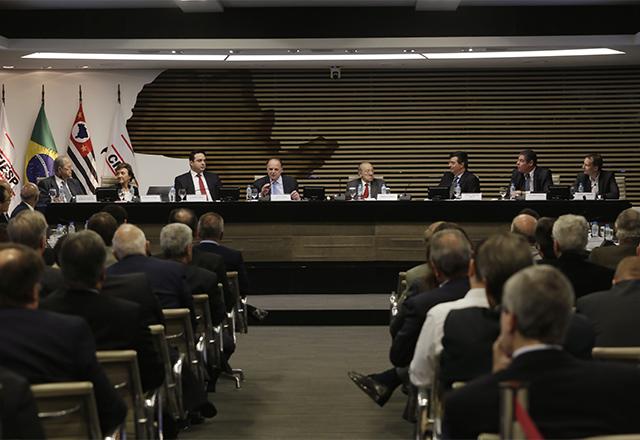 Reunião na Fiesp sobre futuro da indústria automobilística no Brasil. Foto: Helcio Nagamine/Fiesp