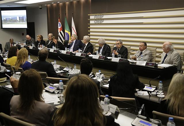 Reunião do Cort com a participação da ministra do TST Maria Cristina Peduzzi. Foto: Helcio Nagamine/Fiesp